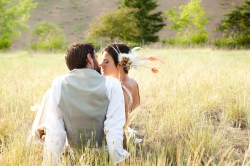 nordweddings missoula montana wedding photography bride and groom kissing