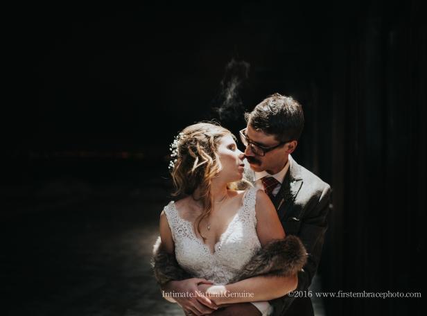 Winter Wedding at The Ranch Club Missoula