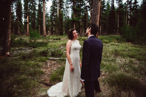 Montana Missoula weddings wedding photography photographer woods camp paxson
